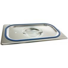 Blanco Edelstahl-Deckel GDD mit Silikondichtung für Behälter GN 1/4