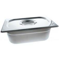 Blanco Edelstahl-Behälter GN 1/4-100 2,2l + optionaler Deckel