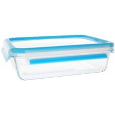 Emsa Clip & Close Frischhaltedose Glas 1,3l