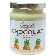 Grashoff Weiße Schokoladencreme mit Ananas 235g