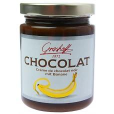 Grashoff Dunkle Schokoladencreme mit Banane 250g