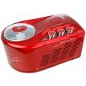 Nemox Gelato Pro 1700 Up Eismaschine mit Kompressor Rot