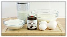 Rezept für cremiges Sahneeis: Zutaten